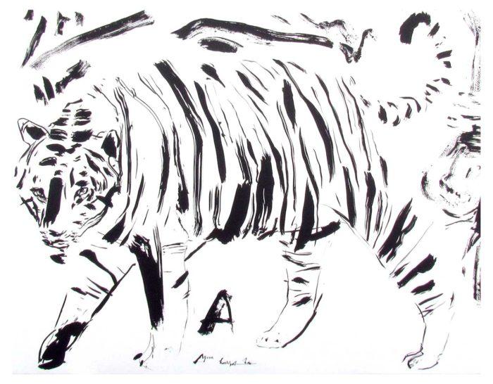Tiger-A by Elsabé Milandri